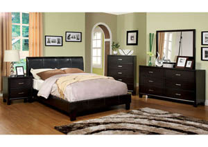 Image for Villa Park Espresso Queen Platform Bed