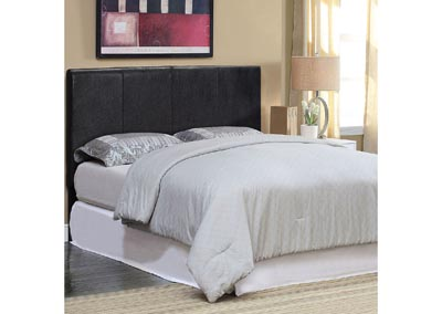 Winn Park II Black King Headboard