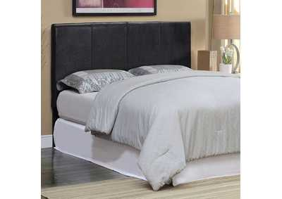 Image for Winn Park ll Espresso Leatherette Queen Headboard