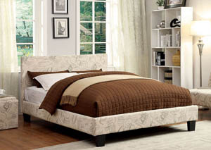 Winn Park World Traveler Upholstered Eastern King Platform Bed