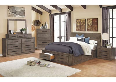 Oakburn Platform Storage California King Bed