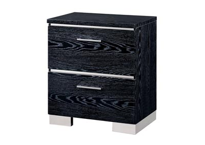 Malte Black Night Stand