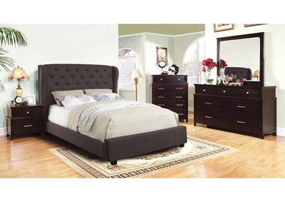 Fontes Dark Grey Eastern King Platform Bed