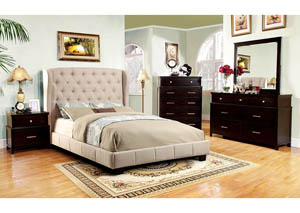 Image for Fontes Ivory Eastern King Platform Bed