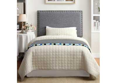 Herstal Grey Twin Headboard