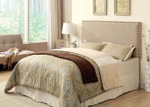 Herstal Ivory Queen Headboard