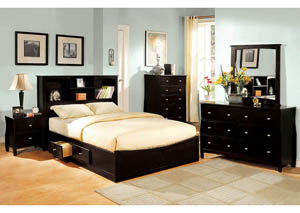 Image for Brooklyn Espresso Eastern King Platform Storage Bed