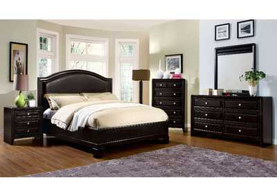 Winsor Espresso Eastern King Platform Bed