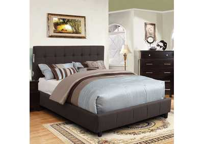 Dillan Dark Grey Eastern King Platform Bed