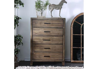 Enrico I Light Oak Chest