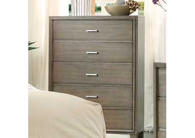 Enrico I Gray Chest,Furniture of America