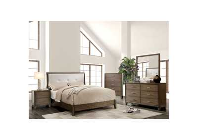 Enrico I Gray Dresser w/Mirror,Furniture of America