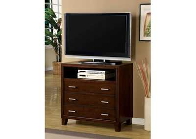 Image for Gerico II Brown Cherry Media Chest