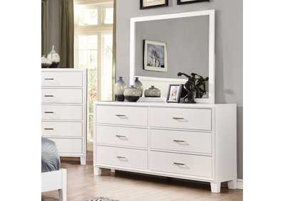 Image for Enrico I White Dresser