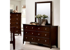 Riggins Brown Cherry Dresser