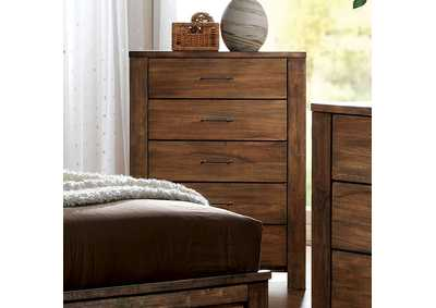 Elkton Oak Drawer Chest