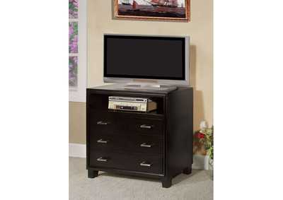 Image for Gerico II Espresso Media Chest