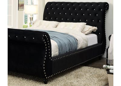 Image for Noella Black California King Sleigh Bed