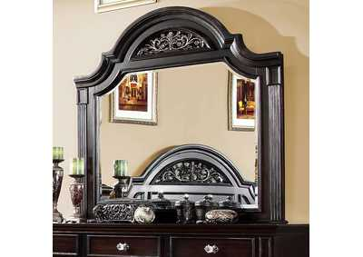 Syracuse Dark Walnut Mirror