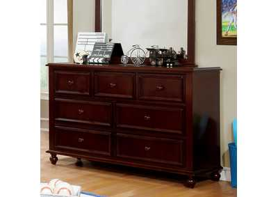 Olivia Dark Walnut Dresser