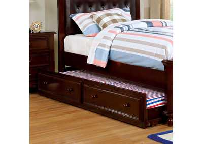 Olivia Dark Walnut Trundle