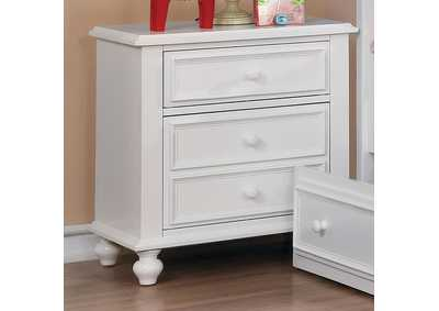 Olivia White Nightstand