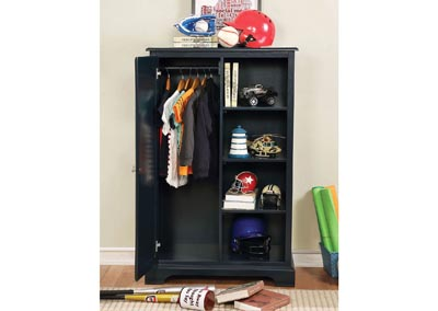 Image for Diane Blue Closet Storage