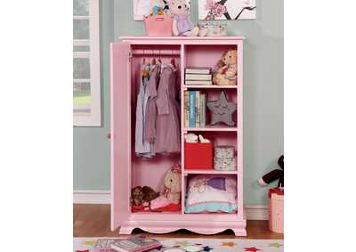 Image for Dani Pink Closet Storage