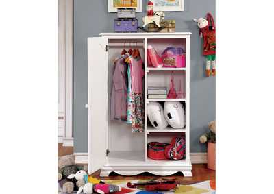 Image for Dani White Closet Storage