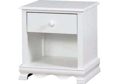 Image for Dani White Nightstand