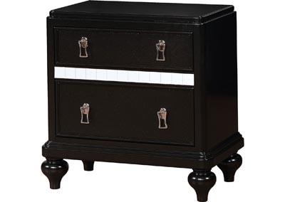 Image for Ariston Black Nightstand