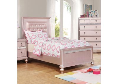 Ariston Pink Twin Bed