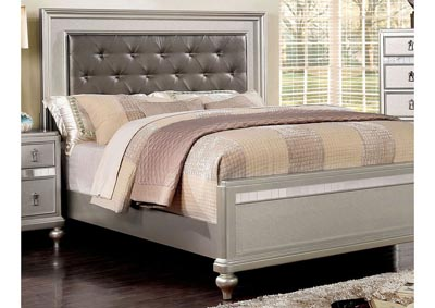 Image for Ariston Silver Upholstered Full Panel Bed