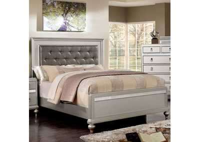 Image for Avior Silver Queen Platform Bed