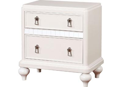 Image for Ariston White Nightstand