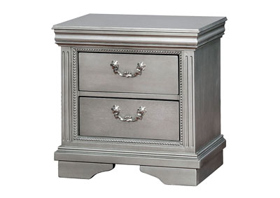 Claudia Siver Gray Nightstand