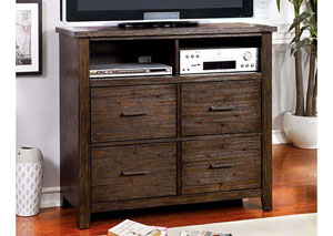 Ribeira Dark Walnut TV Chest