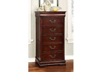 Mandura Cherry Lingerie Chest w/Hidden Storage