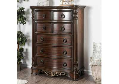 Image for Menodora Brown Cherry Chest