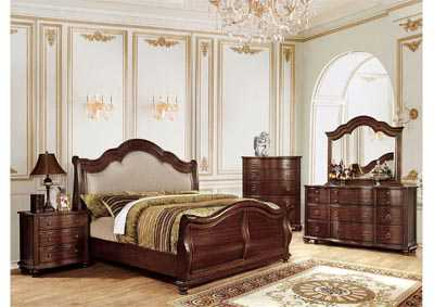 Bellavista California King Upholstered Sleigh Bed
