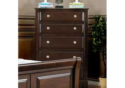 Litchville Brown Cherry Chest
