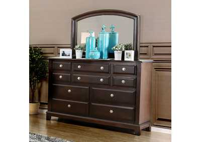 Litchville Brown Cherry Dresser