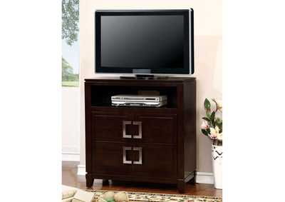 Image for Balfour Brown Cherry Media Chest
