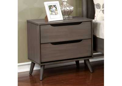 Image for Lennart Gray Nightstand