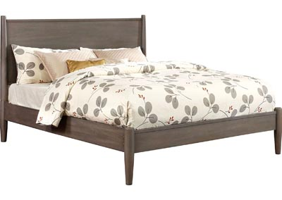 Lennart I Gray Full Platform Bed