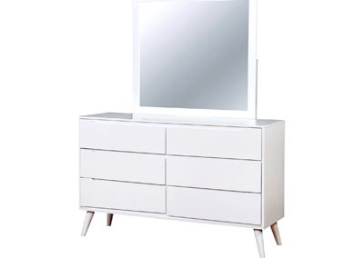 Image for Lennart II White Dresser