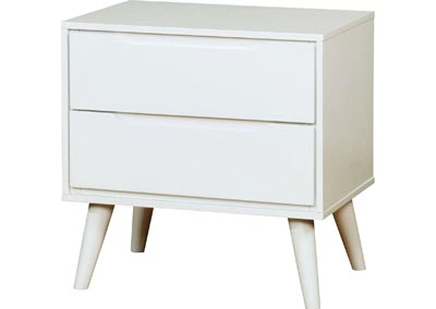 Image for Lennart II White Nightstand