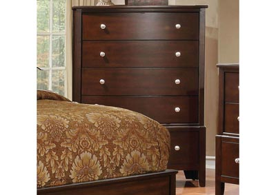 Ferrero Brown Cherry Drawer Chest