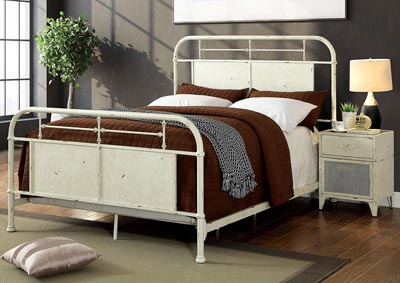 Image for Haldus White California King Bed