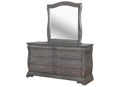 Image for Merida Gray Dresser and Mirror